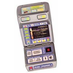 STATIC STARFLEET MARK X TRICORDER FROM STAR TREK: FIRST CONTACT.
