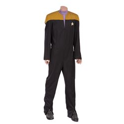 "LEVAR BURTON ""GEORDI LA FORGE"" UNIFORM FROM STAR TREK VII: GENERATIONS"