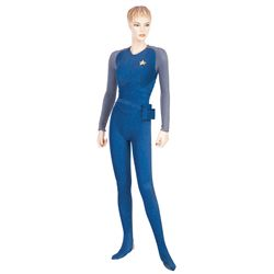 "JERI RYAN COSTUME WORN AS ""SEVEN OF NINE"" IN THE STAR TREK: VOYAGER EPISODE ""INFINITE REGRESS"""