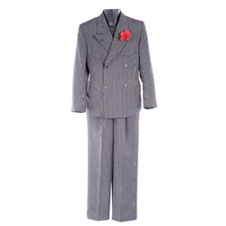 "KEVORK MALIKYAN ""KAZIM"" SUIT JACKET AND PANTS FROM INDIANA JONES AND THE LAST CRUSADE"