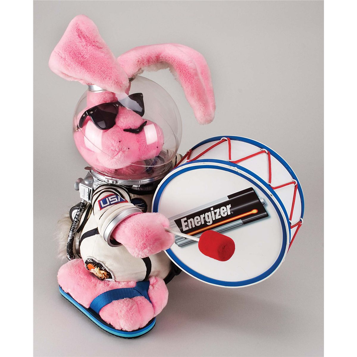 ORIGINAL SCREEN-USED ENERGIZER BUNNY FROM THE CLASSIC ...