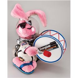 ORIGINAL SCREEN-USED ENERGIZER BUNNY FROM THE CLASSIC TELEVISION COMMERCIALS OF THE 1980S AND 90S.