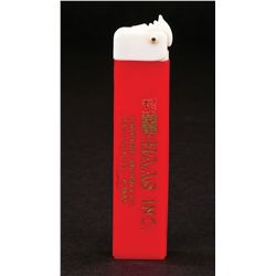 ADVERTISING PATENT BOX PEZ DISPENSER