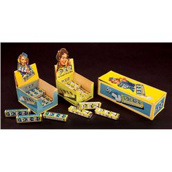 THREE (3) PEZ GIRL CANDY BOXES