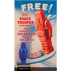 1950S SPACE TROOPER PEZ DISPENSER