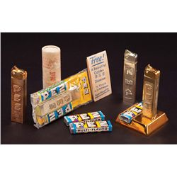 1950S ASSORTMENT OF GOLDEN GLOW PEZ DISPENSERS