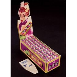 "PEZ ""ANISE"" CANDY FULL DISPLAY BOX"