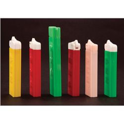 ASSORTMENT OF (5) REGULAR PEZ DISPENSERS INCLUDES