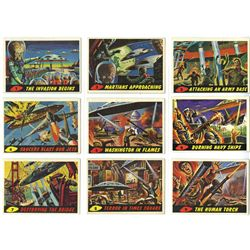 COMPLETE MARS ATTACKS TRADING CARD SET W/1 WRAPPER AND ORDER FORM