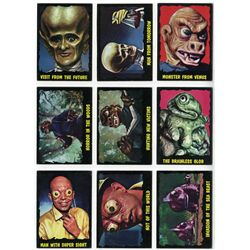 COMPLETE OUTER LIMITS TRADING CARD SET W/ 1 WRAPPER