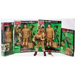 (4) G.I. JOE JAPANESE IMPERIAL SOLDIER AND ACCESSORIES