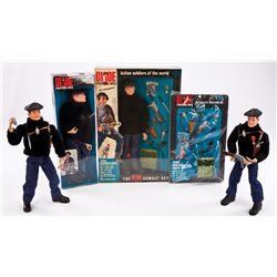 (4) G.I. JOE FRENCH RESISTANCE FIGHTERS AND ACCESSORIES