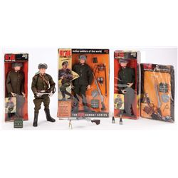 (4) G.I. JOE RUSSIAN INFANTRY MEN WITH ACCESSORIES