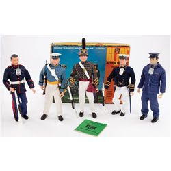 (5) G.I. JOE CADETS WITH ACCESSORIES