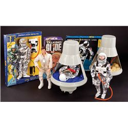 G.I. JOE ASTRONAUT COLLECTION INCLUDING (2) SPACE CAPSULES AND (3) ASTRONAUT FIGURES