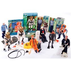 G.I. JOE SAILOR COLLECTION AND DEEP SEA DIVER SUIT ON CARD.