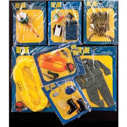 (7) G.I. JOE PILOTS ACCESSORIES COLLECTION