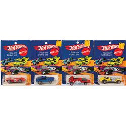 HOT WHEELS 73 ENAMEL COLLECTION OF (4) CARS