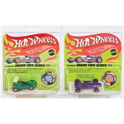 HOT WHEELS GRAND PRIX SERIES COLLECTION WITH CUSTOMIZING KIT.