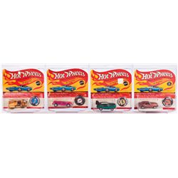 HOT WHEELS RED LINES COLLECTION OF (4) CARS