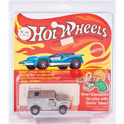 HOT WHEELS DRIVIN' GEAR COLLECTION OF (4) CARS