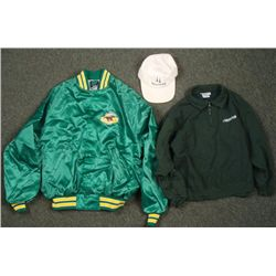 Arlington Race Track Jacket Pull-Over Adjustable Hat