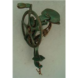 Reading Hardware Antique Cast Iron Apple Peeler 1800s