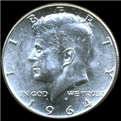 1964 JFK Half MS63/64 Underweight ERROR (COI-10614)