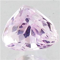 3.85ct Sparking Top Pink Kunzite Trillion (GEM-43843)
