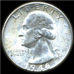 1946D Washington 25c MS63 (COI-10751)