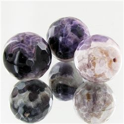170ct Natural Amethyst Beads Parcel (GEM-49551)