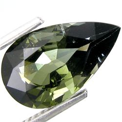 3.87ct Natural Green Elbaite Tourmaline (GEM-18749)