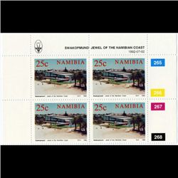 1992 Namibia 25c Stamp 4-Block MINT NH (STM-1270)