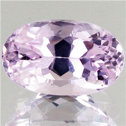 10.2ct Hot Pink Kunzite Oval (GEM-43308)
