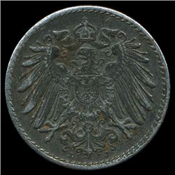 1919J Germany 5pf AU (COI-9826)