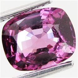 2.7ct Hot Pink Violet Tanzanian Spinel (GEM-35051)