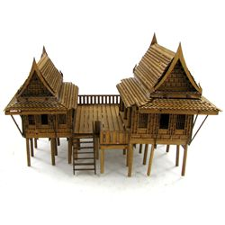 Thai Teak House Model Kit (CLB-1103)