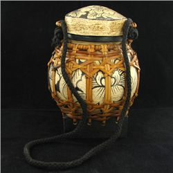 Hand Decorated Rice Container  (CLB-1105)