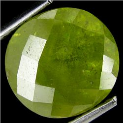 5.00ct Huge Vivid Green Sphene Oval (GEM-19597)