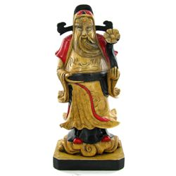 Hand Carved Marble Chinese Wise Man (CLB-972)