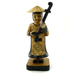 Handcarved Marble Chinese Musician (CLB-1026)