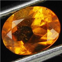 0.65ct Mandarin Fire Orange Clinohumite Oval (GEM-43998)