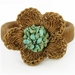 Crocheted Shell Bracelet (JEW-4310)