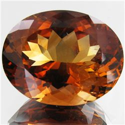 57.55ct Cut Imperial Orange Topaz  Oval (GEM-42860)