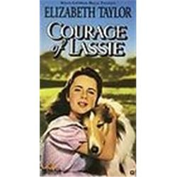 Courage of Lassie [VHS] [VHS Tape]  Elizabeth Taylor; Frank Morgan