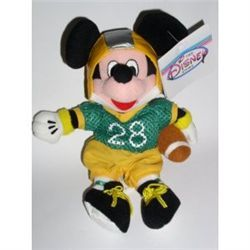 Disney Theme Park Exclusive Football Mickey Bean Bag [Toy]