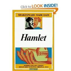 Hamlet (Shakespeare Made Easy) [Paperback] by Shakespeare, William
