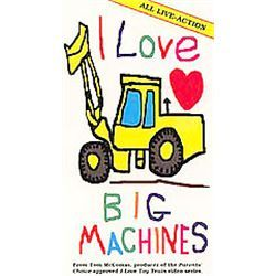 I Love Big Machines [VHS] [VHS Tape] (2002) I Love Big Machines
