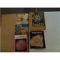 Vintage Books Az. Highways & American Art & Antiq.