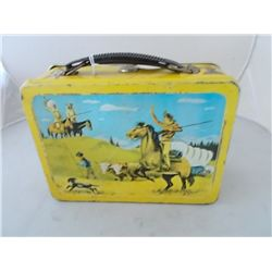 1950 Yellow Pathfinder Lunchbox